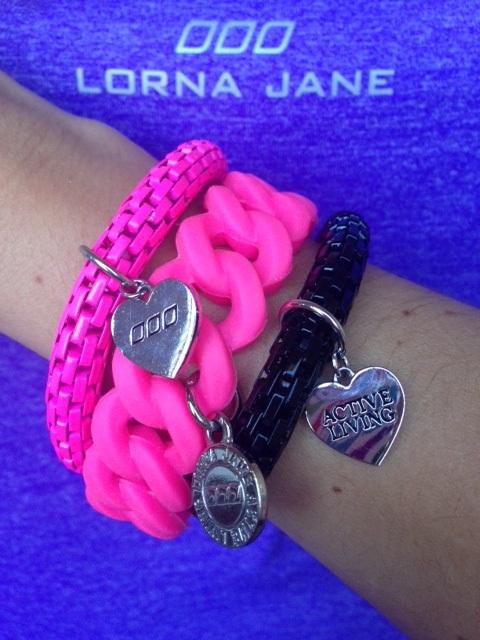 Lorna Jane bracelets