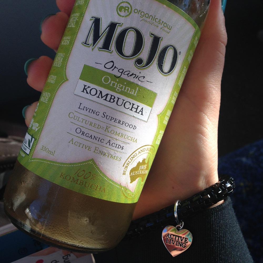 Mojo Organic - my introduction to kombucha.