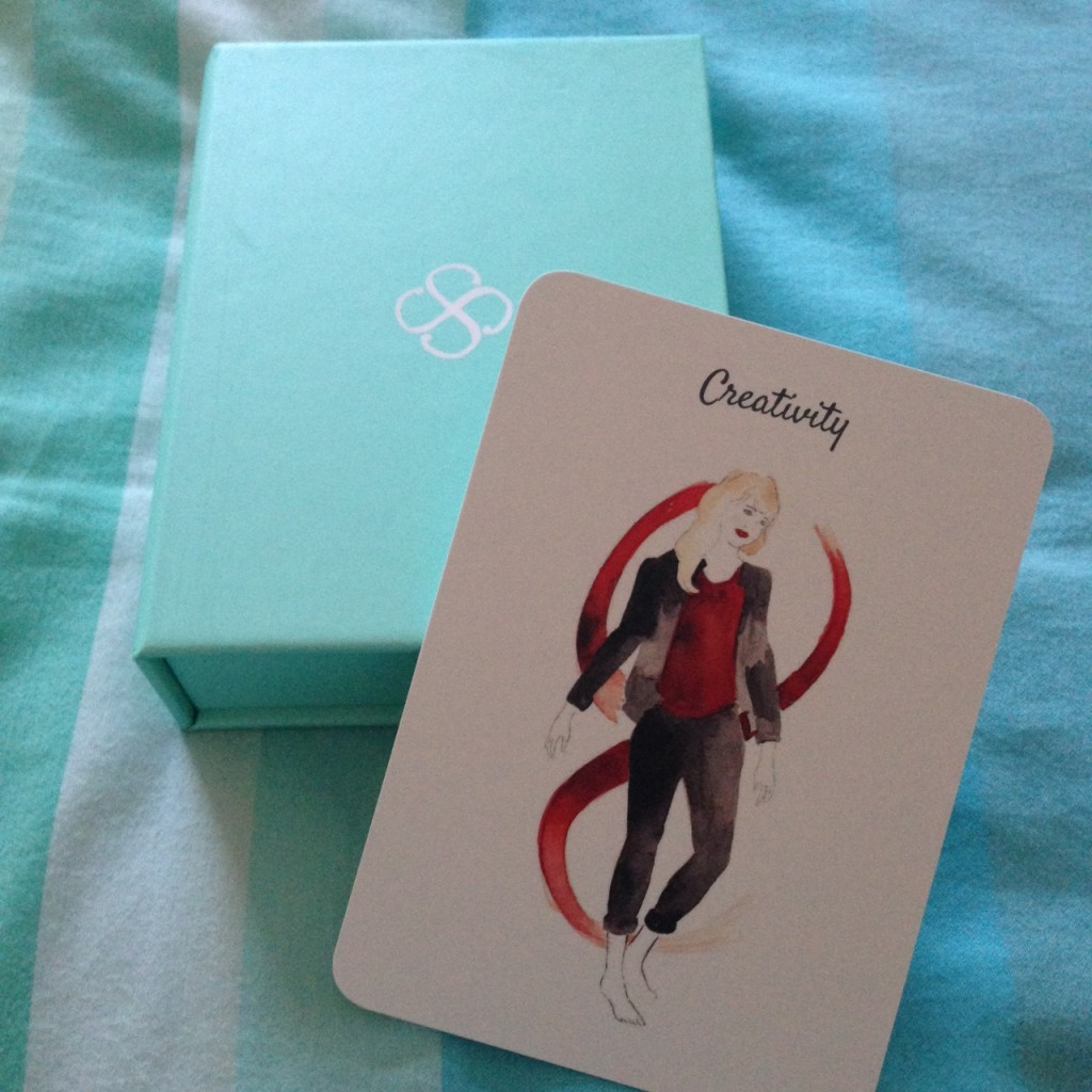 Oracle cards can help set strong intentions and guide the way.