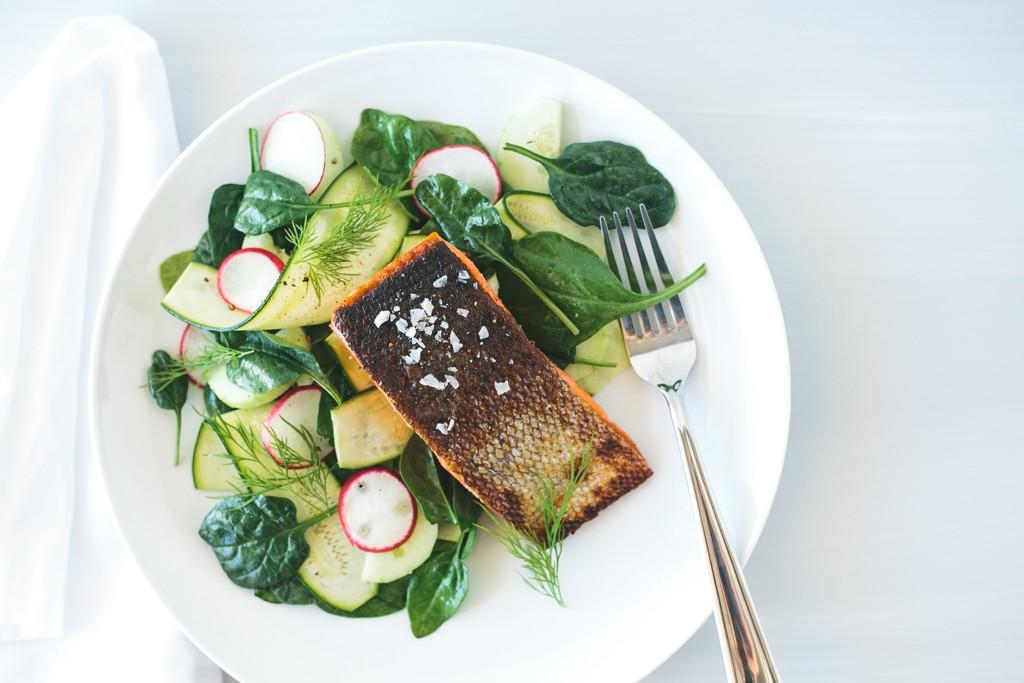 crispy-skin-salmon-on-zucchini-cucumber-salad-5